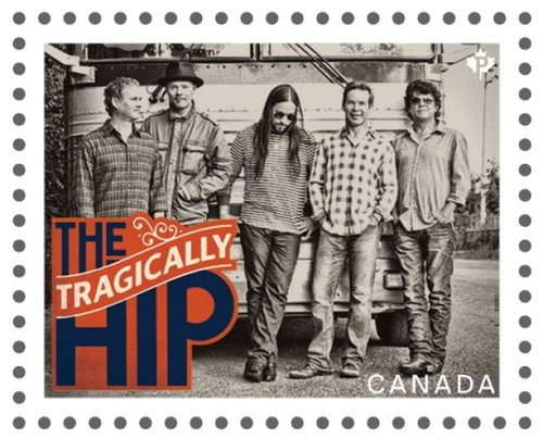 Post stamps tragically hip