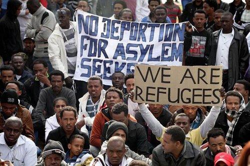 Israel refugee demo