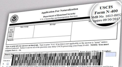 N-400, Application for Naturalization