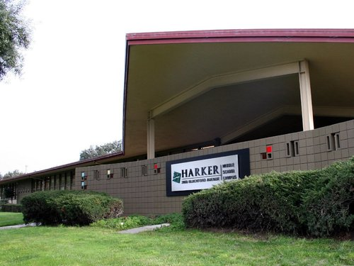 Harker middle school building